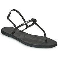 Čevlji  Ženske Sandali & Odprti čevlji Havaianas YOU RIVIERA Črna