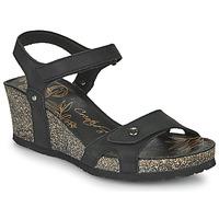 Čevlji  Ženske Sandali & Odprti čevlji Panama Jack JULIA Črna