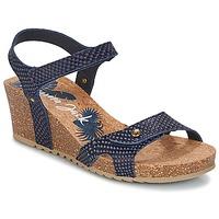 Čevlji  Ženske Sandali & Odprti čevlji Panama Jack JULIA Modra