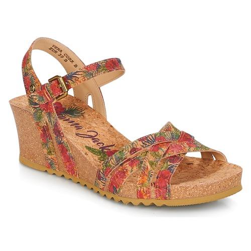 Čevlji  Ženske Sandali & Odprti čevlji Panama Jack VERA Rdeča