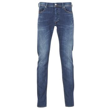 Oblačila Moški Kavbojke slim Diesel TEPPHAR Modra