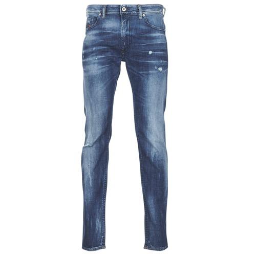 Oblačila Moški Kavbojke slim Diesel THOMMER Modra