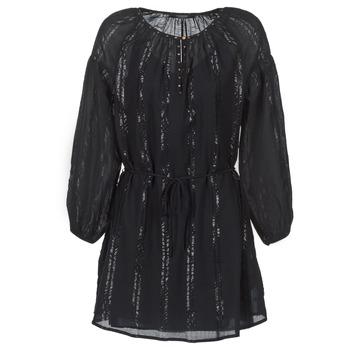 Oblačila Ženske Kratke obleke Maison Scotch DRAGUO Črna