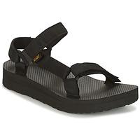 Čevlji  Ženske Sandali & Odprti čevlji Teva MIDFORM UNIVERSAL Črna