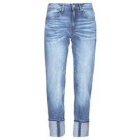 Oblačila Ženske Jeans 3/4 & 7/8 G-Star Raw LANC 3D HIGH STRAIGHT 11ozsena