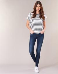 Oblačila Ženske Jeans skinny G-Star Raw MIDGE ZIP MID SKINNY Neutro