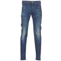 Oblačila Moški Kavbojke slim G-Star Raw 3301 SLIM Modra