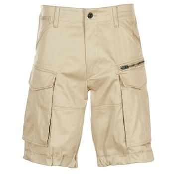 Oblačila Moški Kratke hlače & Bermuda G-Star Raw ROVIC ZIP LOOSE 1/2 Béžová
