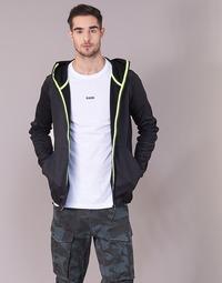 Oblačila Moški Puloverji G-Star Raw STRETT SLIM HOODED ZIP THRU SW L/S Črna