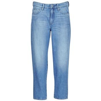 Oblačila Ženske Jeans boyfriend G-Star Raw 3301 HIGH BOYFRIEND 7/8 WMN Sepraná / Small / Destroy