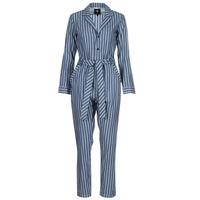 Oblačila Ženske Kombinezoni G-Star Raw DELINE JUMPSUIT WMN L/S Niebieski / Bela