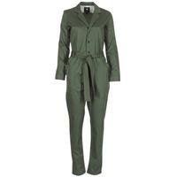 Oblačila Ženske Kombinezoni G-Star Raw DELINE JUMPSUIT WMN L/S Khaki
