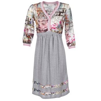 Oblačila Ženske Kratke obleke Cream ZAIROCE Siva