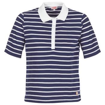Oblačila Ženske Polo majice kratki rokavi Armor Lux POLAED Bela