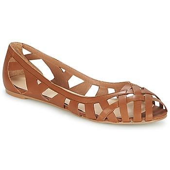 Čevlji  Ženske Sandali & Odprti čevlji Jonak DERAY Cognac