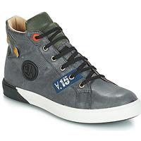 Čevlji  Dečki Visoke superge GBB SILVIO Siva