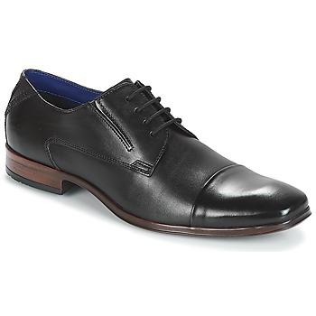 Čevlji  Moški Čevlji Derby Bugatti  Črna