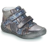 Čevlji  Deklice Polškornji GBB ROXANE Siva / Modra
