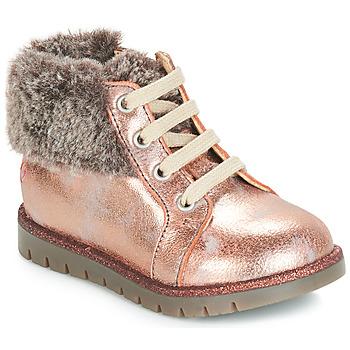 Čevlji  Deklice Visoke superge GBB RENATA Rožnata