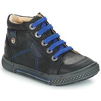 Čevlji  Dečki Visoke superge GBB RAYMOND Črna