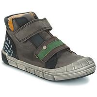 Čevlji  Dečki Visoke superge GBB REMI Siva