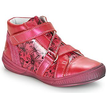 Čevlji  Deklice Visoke superge GBB RADEGONDE Rožnata