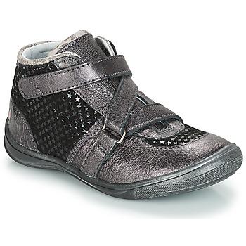 Čevlji  Deklice Polškornji GBB RIQUETTE Siva / Črna