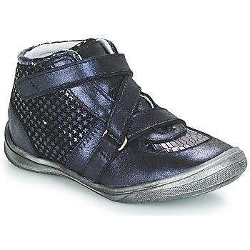 Čevlji  Deklice Visoke superge GBB RIQUETTE Modra
