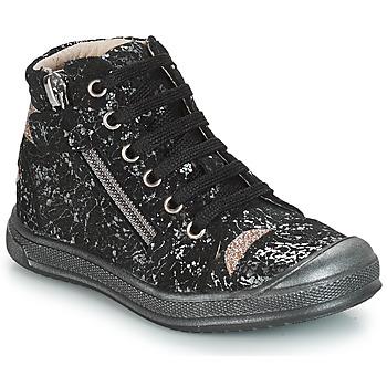 Čevlji  Deklice Visoke superge GBB DESTINY Črna