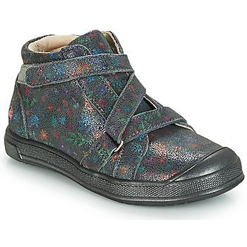 Čevlji  Deklice Visoke superge GBB NADEGE Siva