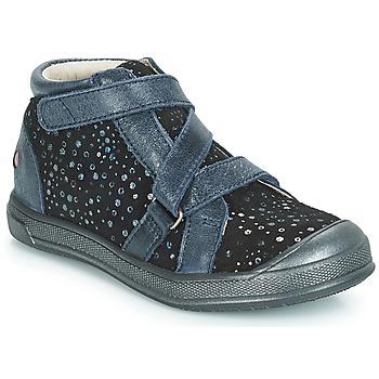 Čevlji  Deklice Visoke superge GBB NADEGE Modra / Črna