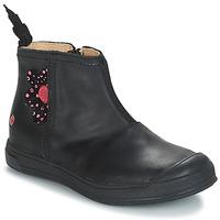Čevlji  Deklice Polškornji GBB ROMANE Črna