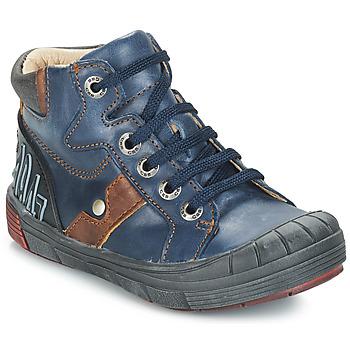 Čevlji  Dečki Visoke superge GBB RENZO Modra