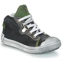 Čevlji  Dečki Visoke superge GBB RONALD Siva / Zelena