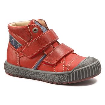 Čevlji  Dečki Visoke superge Catimini RAIFORT Vte / Rdeča-mornarsko modra / Dch / Linux