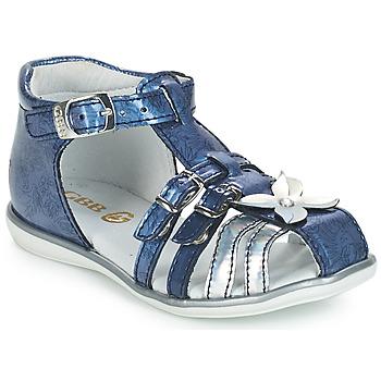 Čevlji  Deklice Sandali & Odprti čevlji GBB SHANICE Modra