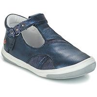 Čevlji  Deklice Balerinke GBB SHAKIRA Modra