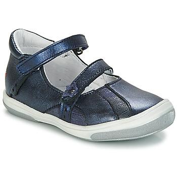 Čevlji  Deklice Balerinke GBB SYBILLE Modra