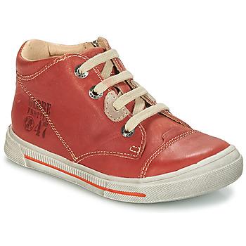 Čevlji  Dečki Polškornji GBB SYLVAIN Rdeča