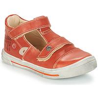 Čevlji  Deklice Balerinke GBB STEVE Rdeča