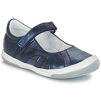Čevlji  Deklice Balerinke GBB SYRINE Modra