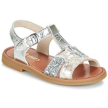 Čevlji  Deklice Sandali & Odprti čevlji GBB SHANTI Srebrna
