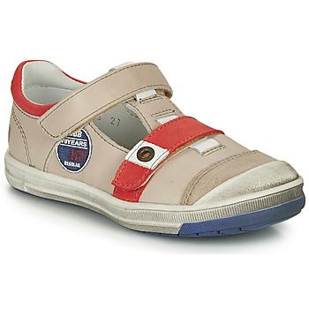 Čevlji  Dečki Sandali & Odprti čevlji GBB SCOTT Bež / Rdeča