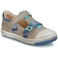 Čevlji  Deklice Balerinke GBB SCOTT Siva / Modra