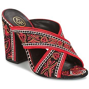 Čevlji  Ženske Sandali & Odprti čevlji Ash LOLA Črna / Rdeča