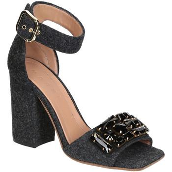 Čevlji  Ženske Sandali & Odprti čevlji Marni SAMSV08C10 TW600 ZI768 Grigio scuro