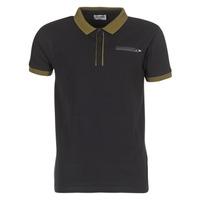 Oblačila Moški Polo majice kratki rokavi Yurban IMARTINGO Črna