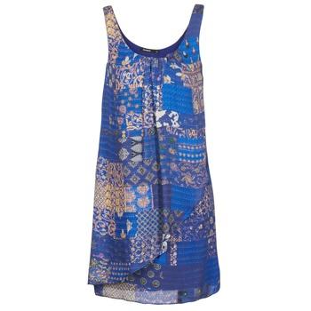 Oblačila Ženske Kratke obleke Desigual OFFOELA Modra