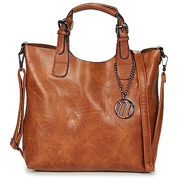 Torbice Ženske Ročne torbice Moony Mood EMIRA Kamel
