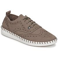Čevlji  Ženske Čevlji Derby LPB Shoes DIVA Taupe